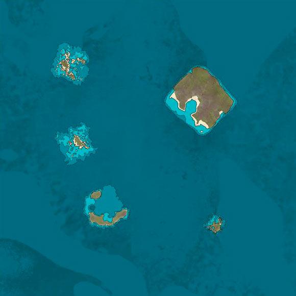 B7 Normal Region Map for ATLAS MMO   game-maps com