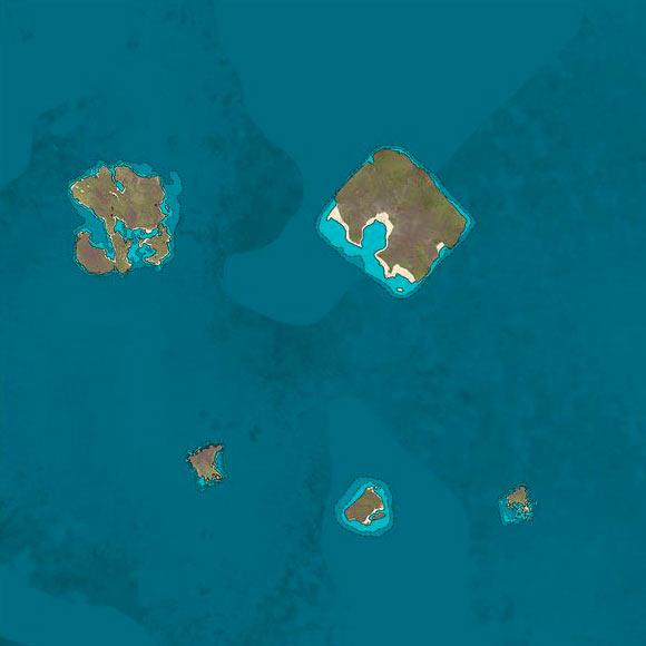 K4 Normal Region Map for ATLAS MMO | game-maps com