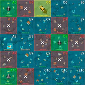 ATLAS MMO Game Map v 207 8 - Full World Map | game-maps com