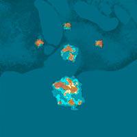 Atlas Mmo Game Map V 207 8 Full World Map Game Maps Com