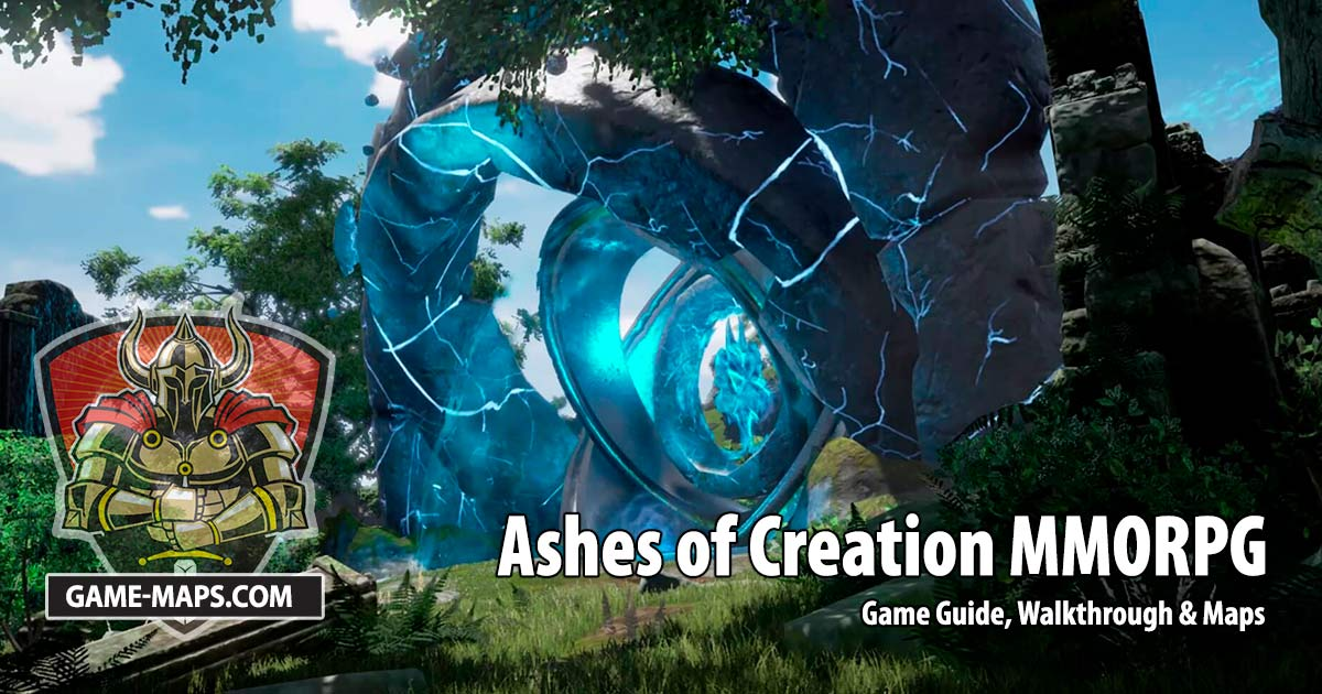 Ashes of Creation MMORPG Game Guide, Walkthrough & Maps