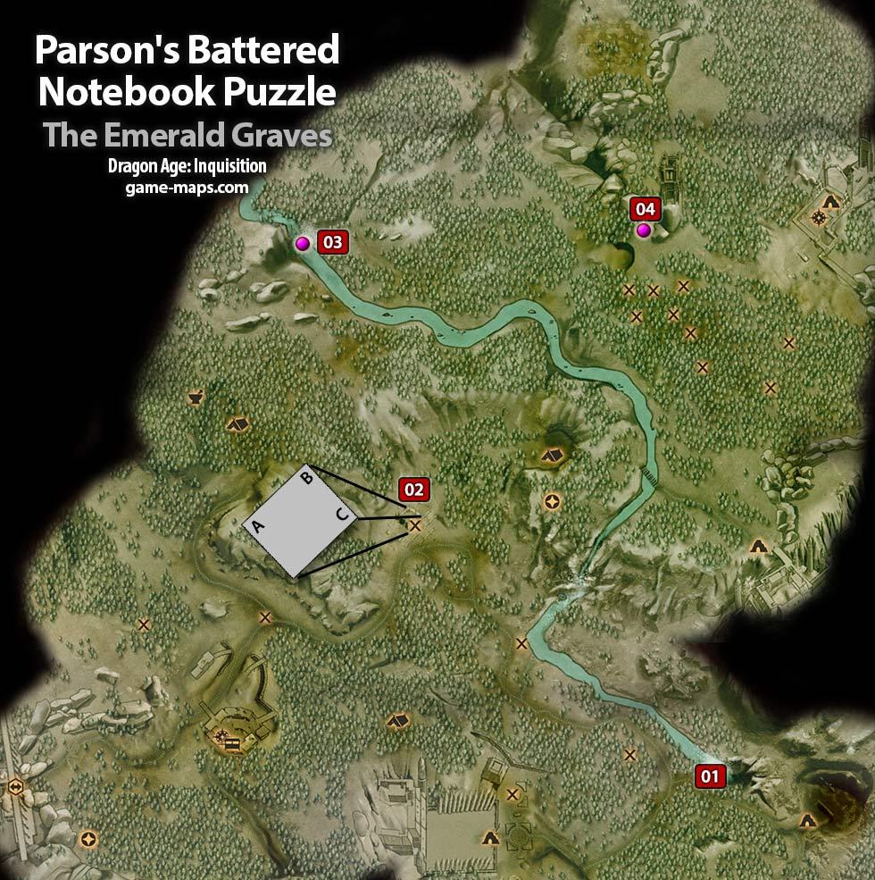 Parson S Battered Notebook Lions Pavilion Torches Puzzle