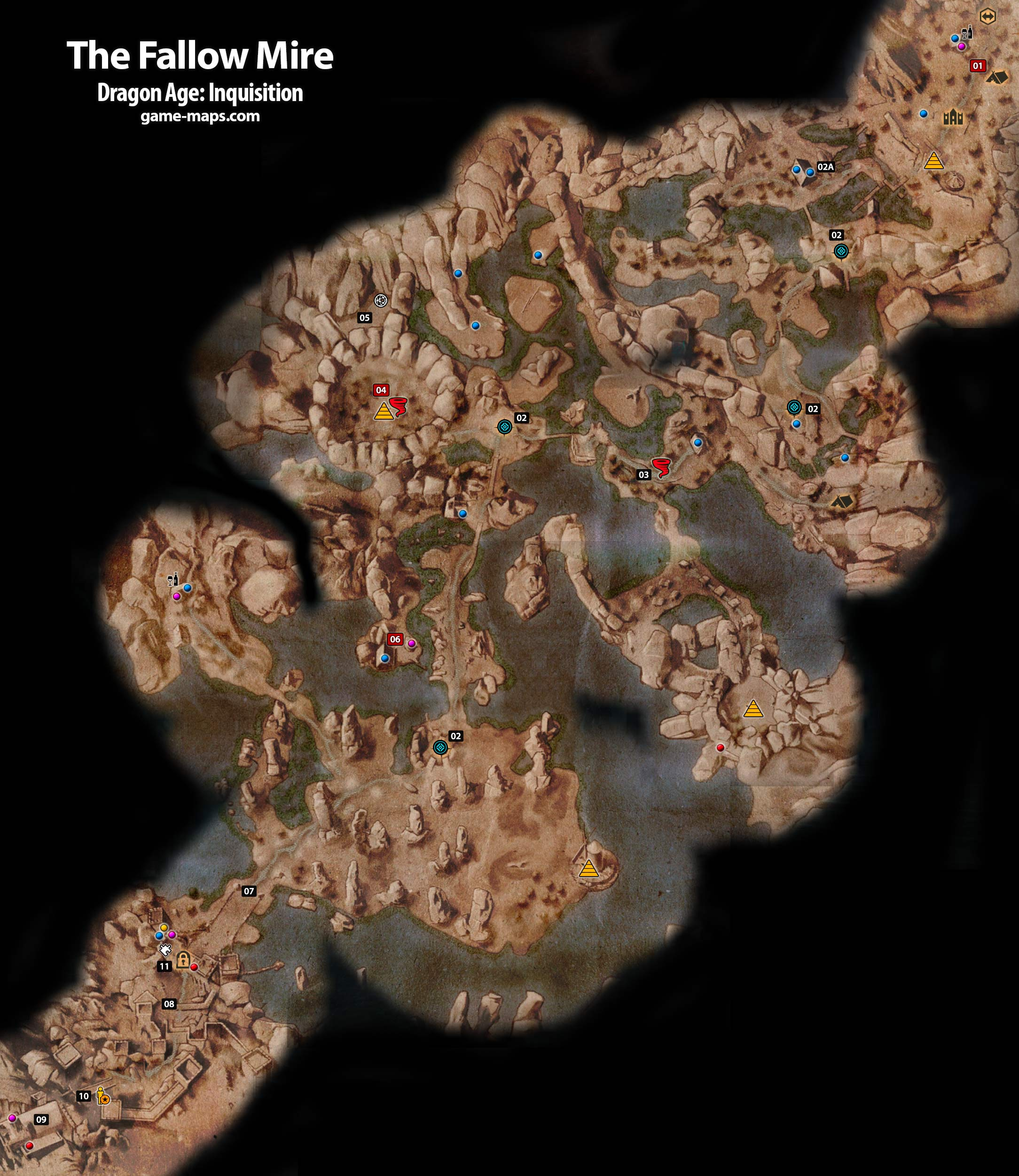 Dragon age inquisition oculara skulls and shards locations 2016 car