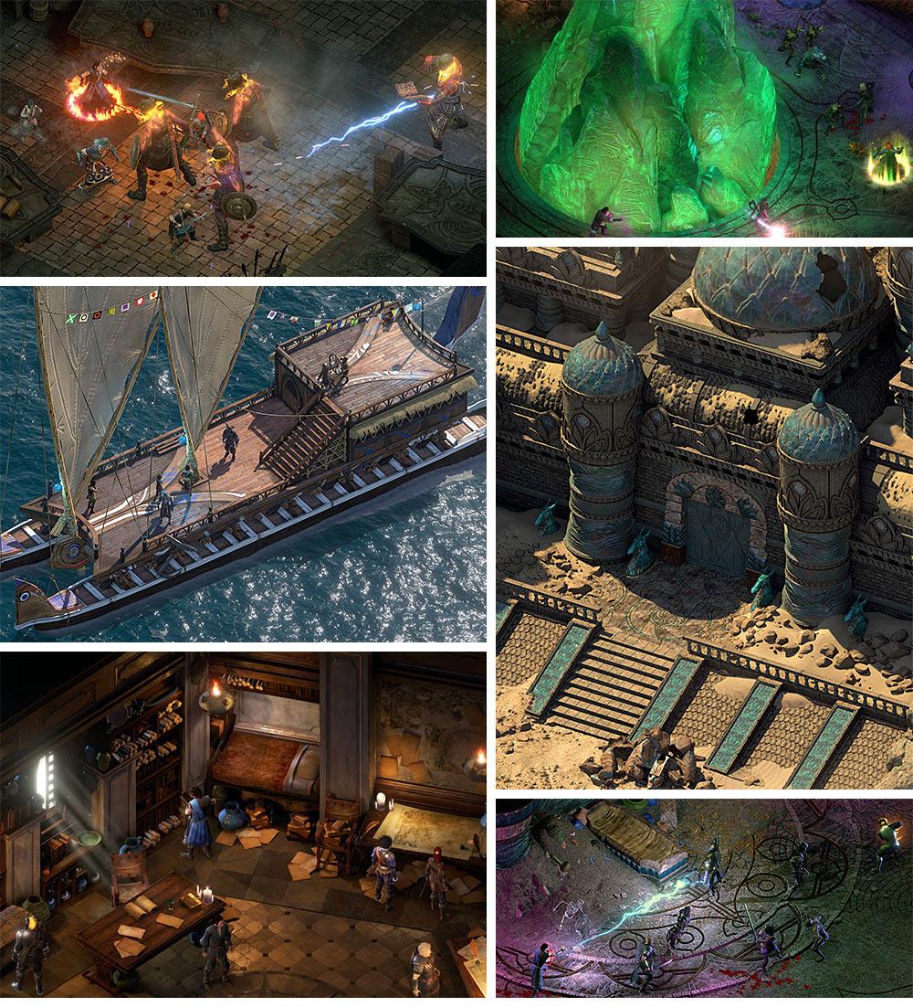 Pillars of Eternity II: Deadfire Walkthrough & Maps | game