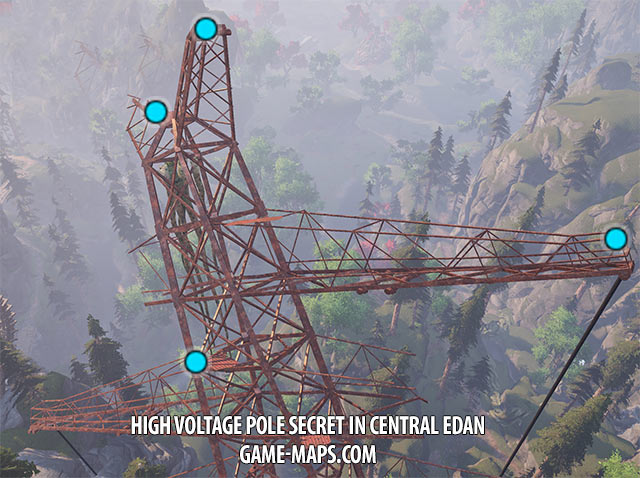 High Voltage Pole Secret in Central Edan | ELEX
