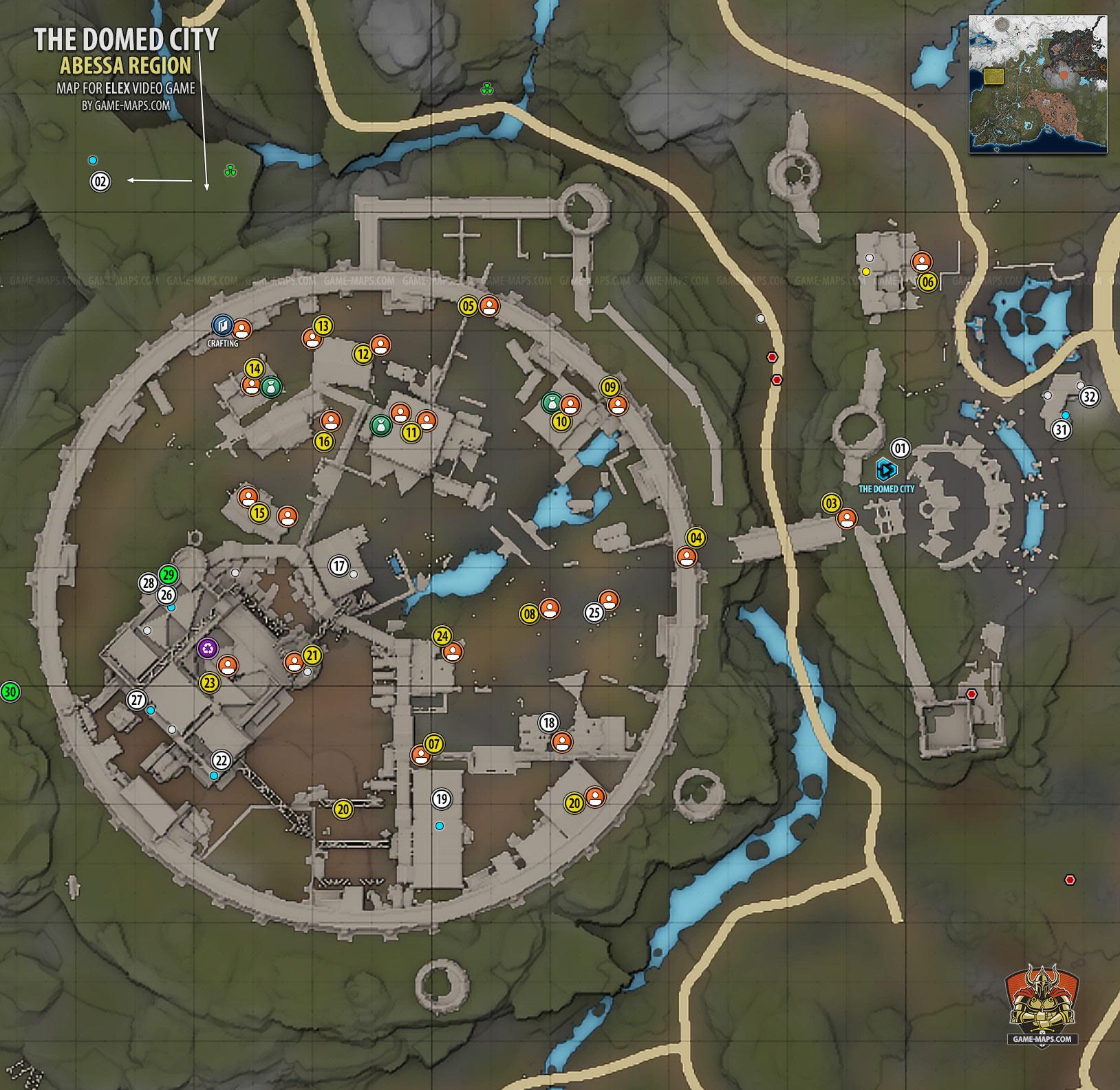 Domed City Map & Walkthrough | Abessa | ELEX | game-maps.com on city neighborhood, city intersection, city of potwin kansas, city street, city of austin etj, topographic map, city restaurants, locator map, city of arcadia fl, fantasy map, city of sandpoint idaho, city of lake village arkansas, city of audubon iowa, street map, city drawing, city of newburgh ny, city of galva il, city of oregon wisconsin, road atlas, city of alexandria louisiana, reversed map, world map, city planning, pictorial maps, city of hamilton michigan, city diagram, city of milan ga, city road, thematic map,