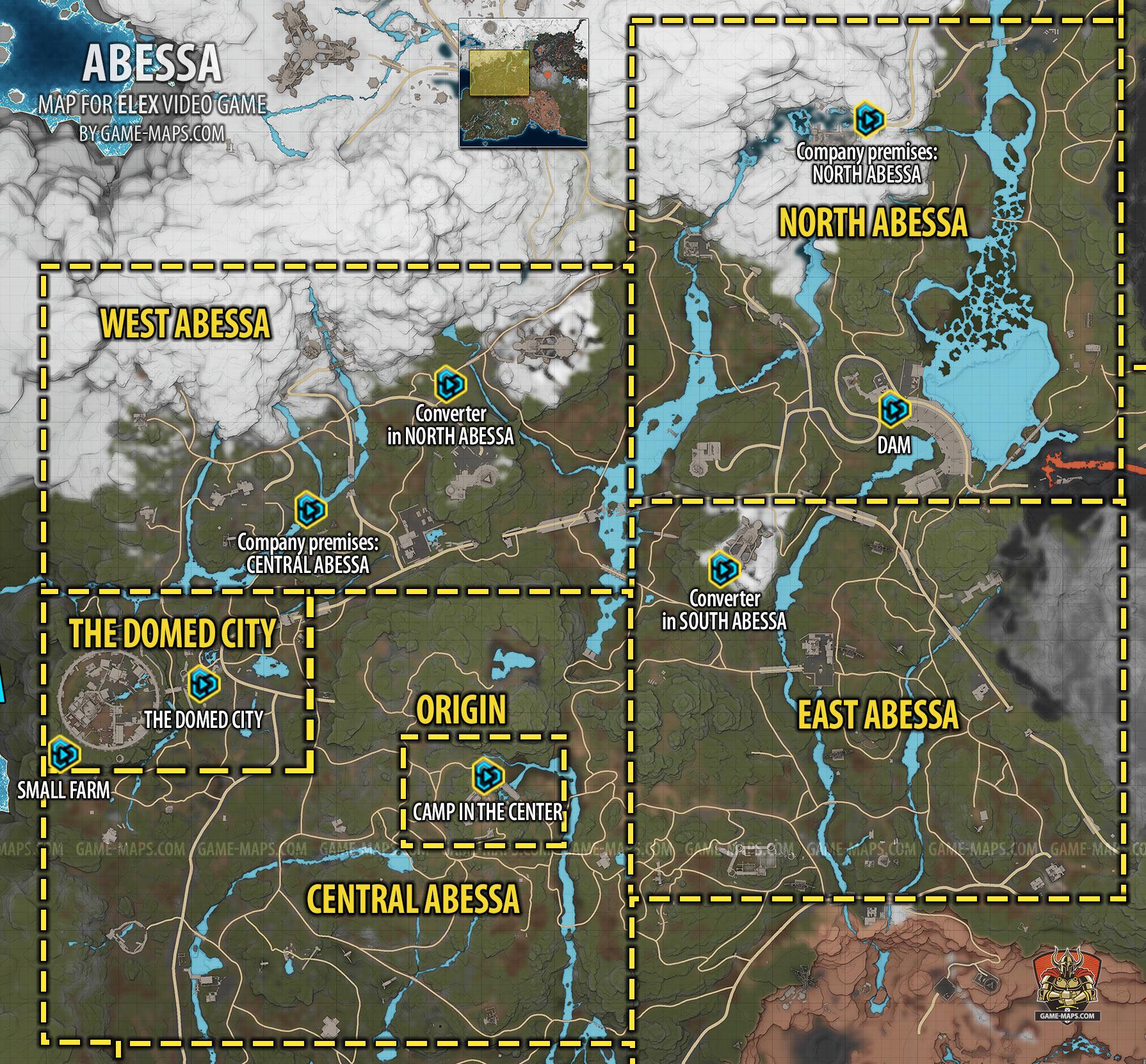 Elex Karte Teleporter.Abessa Map Elex Game Maps Com