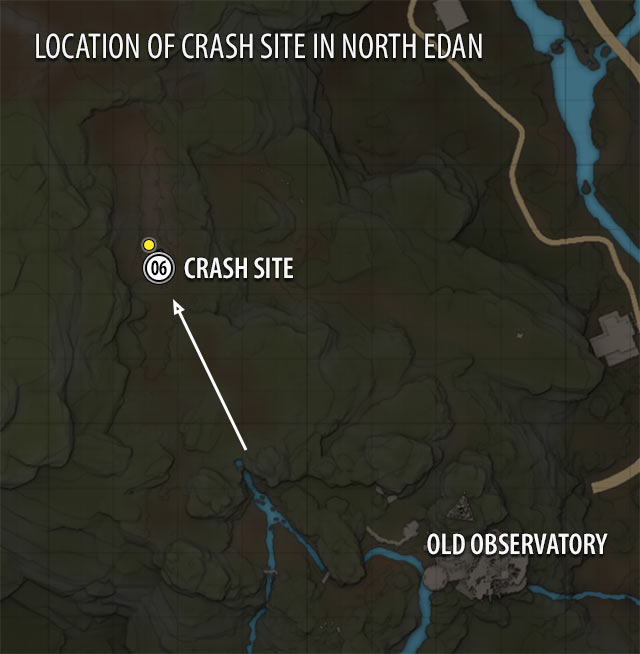 Crash Site Map | ELEX