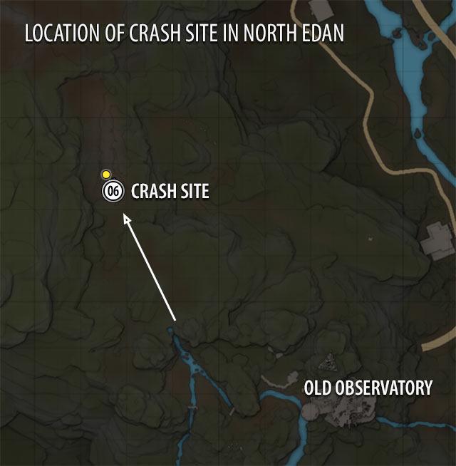 Crash Site Map | ELEX