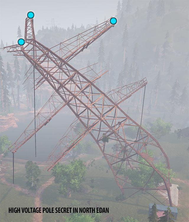 High Voltage Pole Secret in North Edan | ELEX