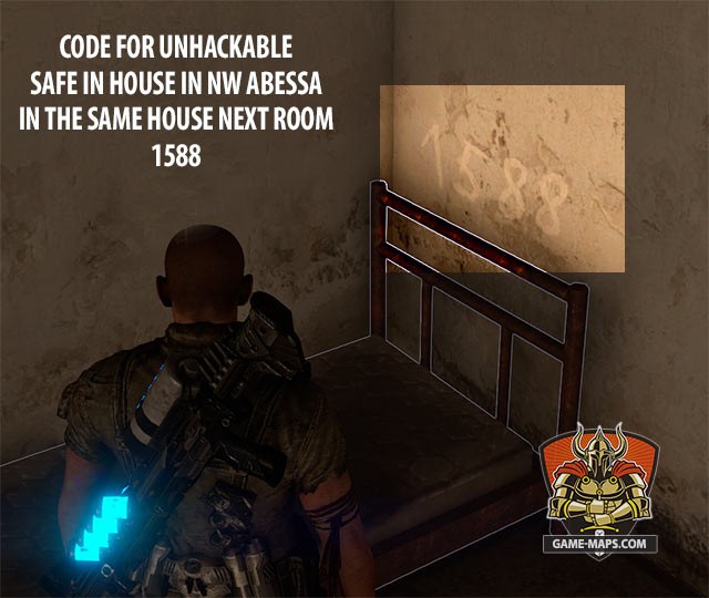 Code for Unhackable Safe in House in NE Abessa