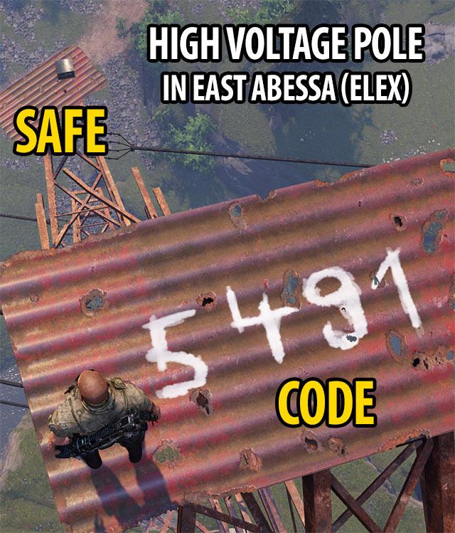 High Voltage Pole Secret in East Abessa   ELEX