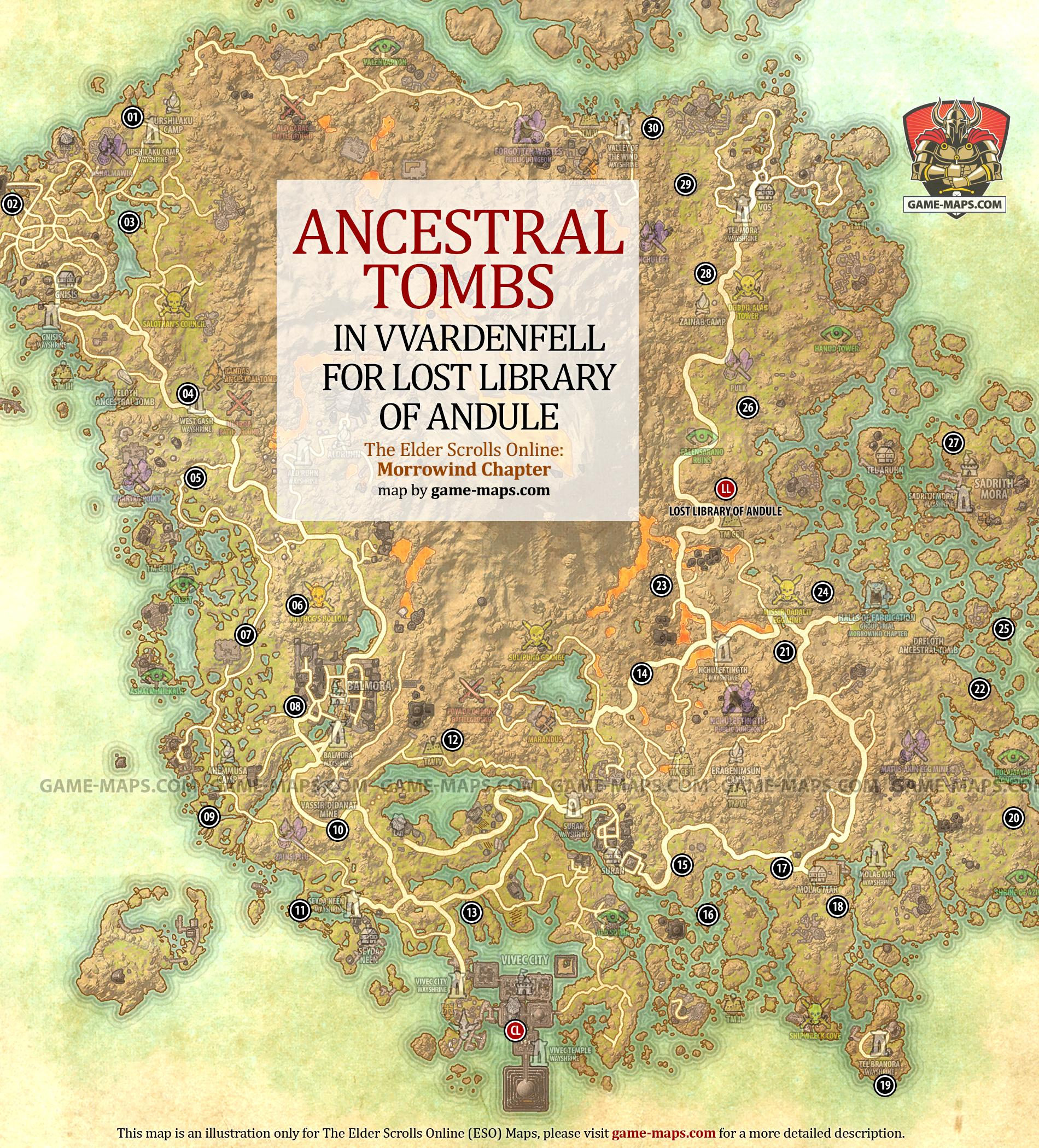 House Building Game Lost Library Of Andule Walkthrough Ancestral Tombs In