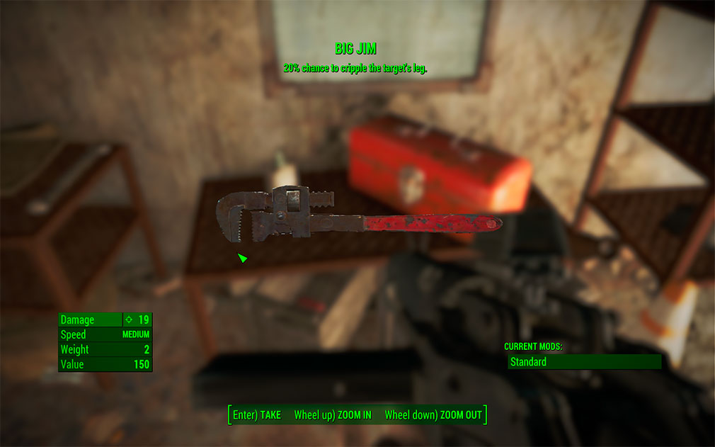 Fallout 4 Unique Items Map