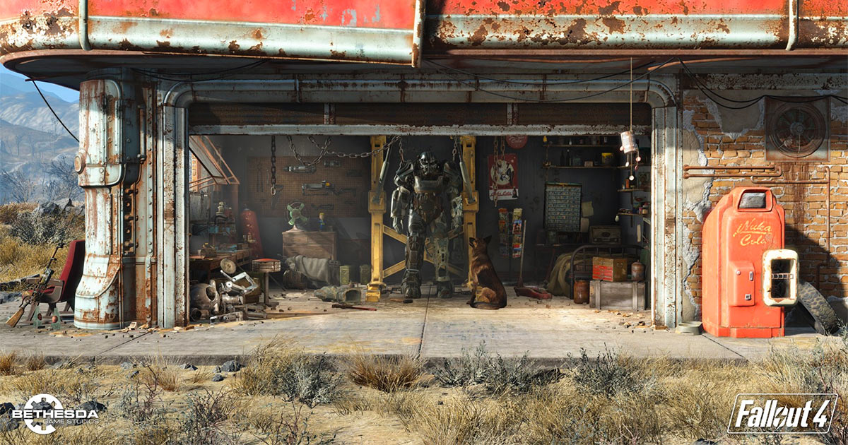 Fallout 4 Maps, Walkthrough & Game Guide