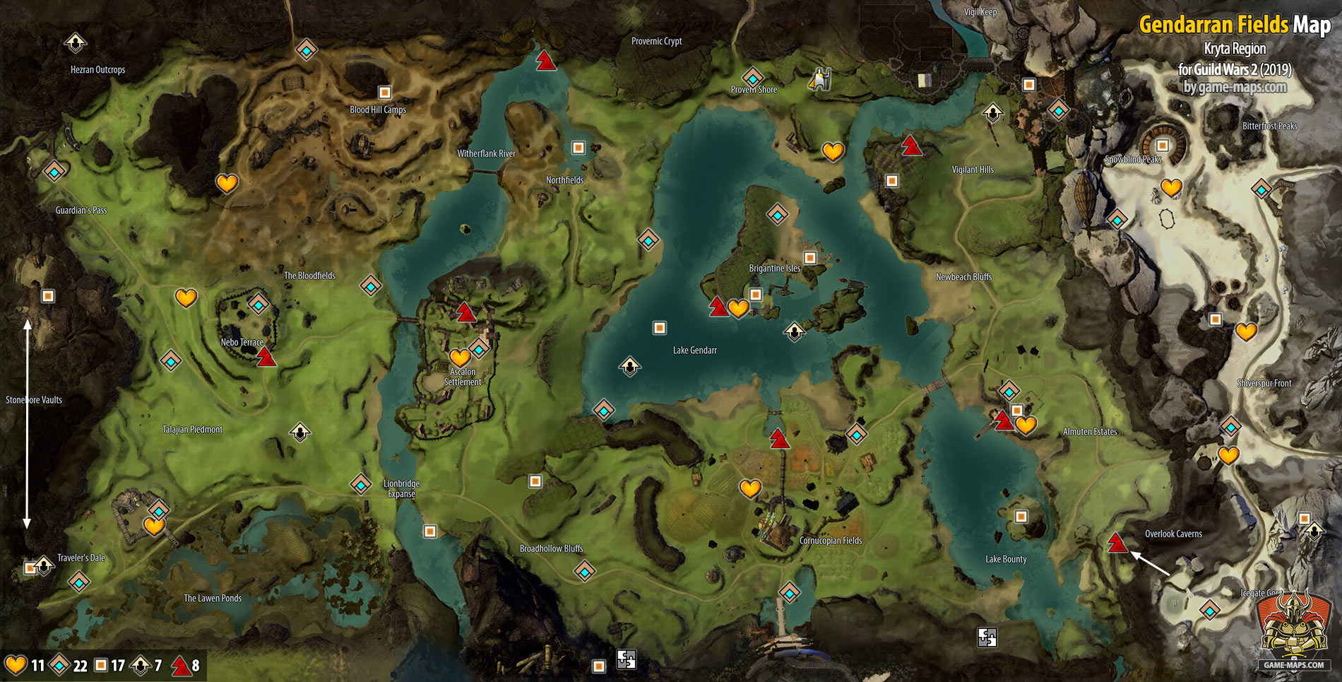 Guild Wars  Crafting Locations