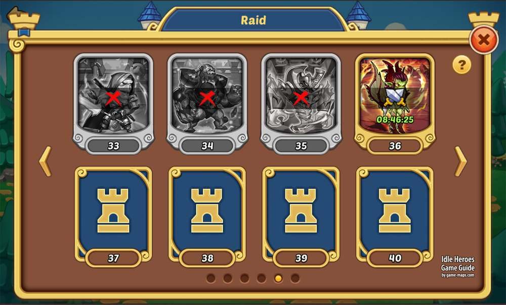 Guild Raids in Idle Heroes | game-maps com