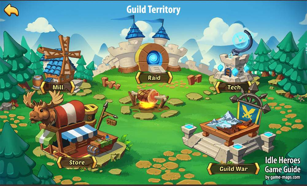 Idle Heroes Guild Territory