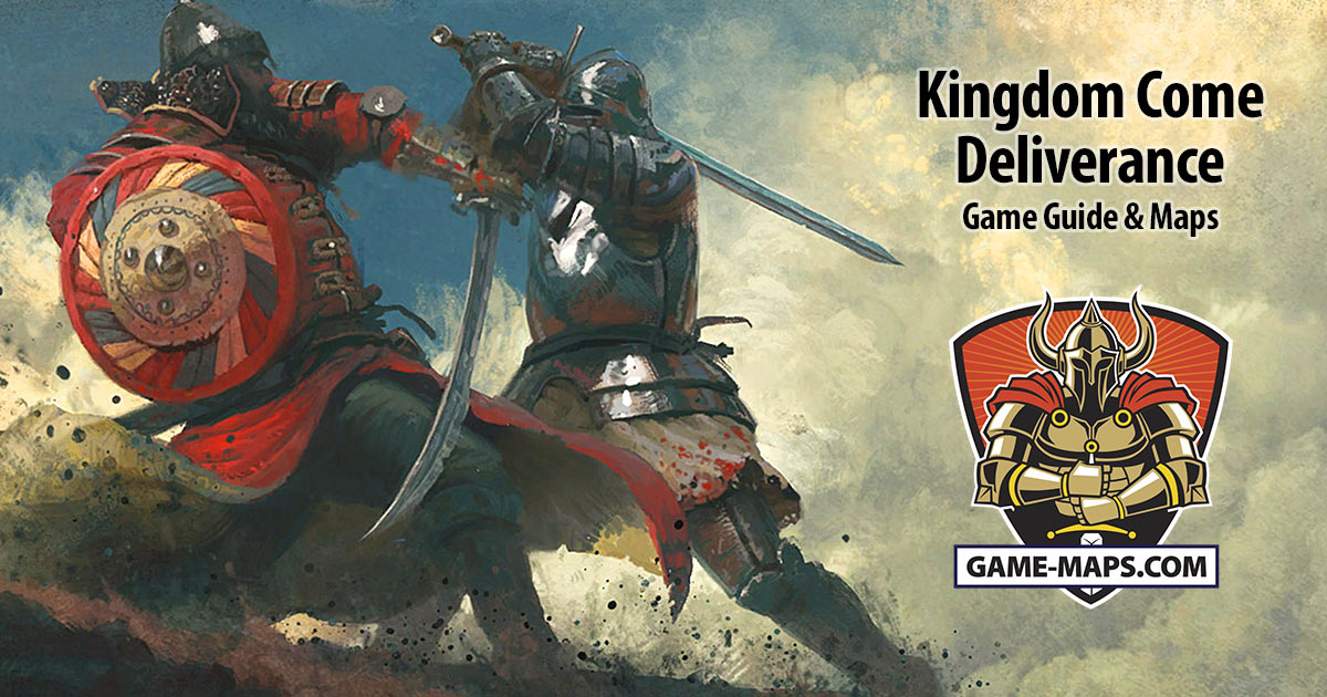 Kingdom Come Deliverance Revealed Maps