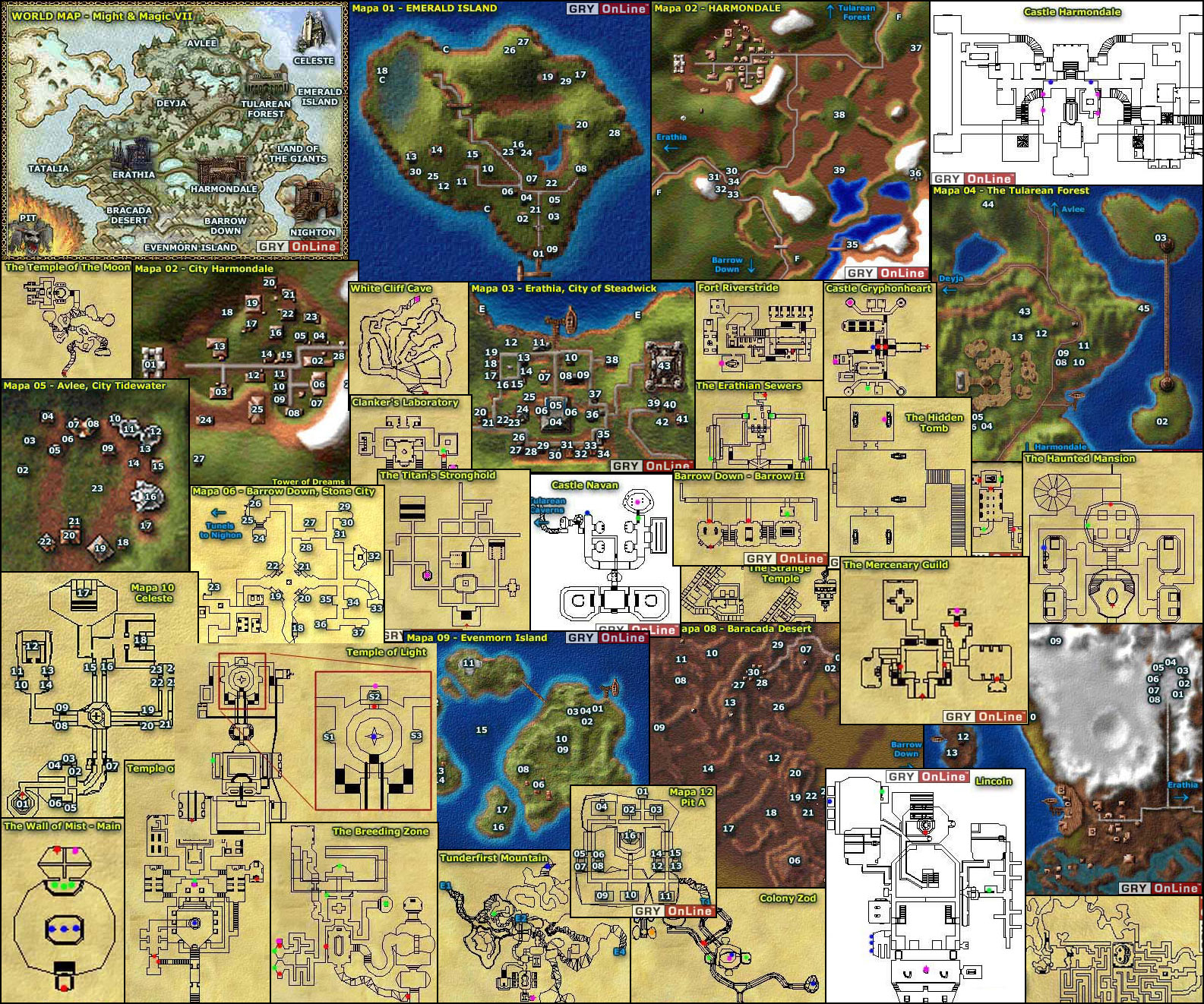heroes of might and magic 3 maps