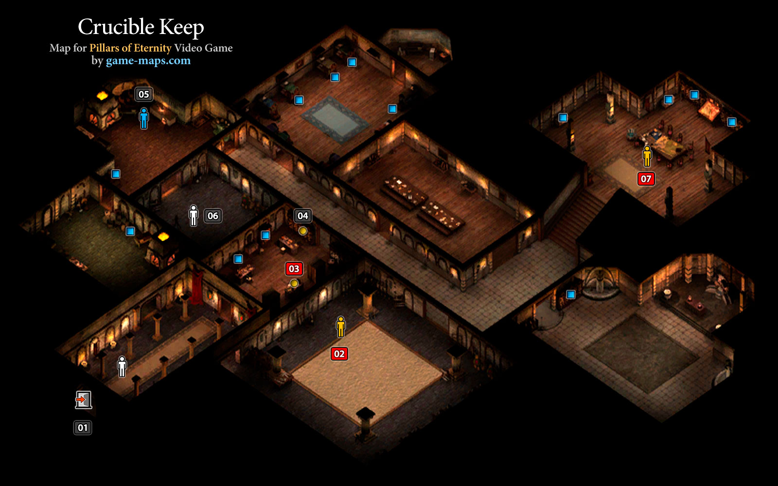 how to detect traps pillars of eternity