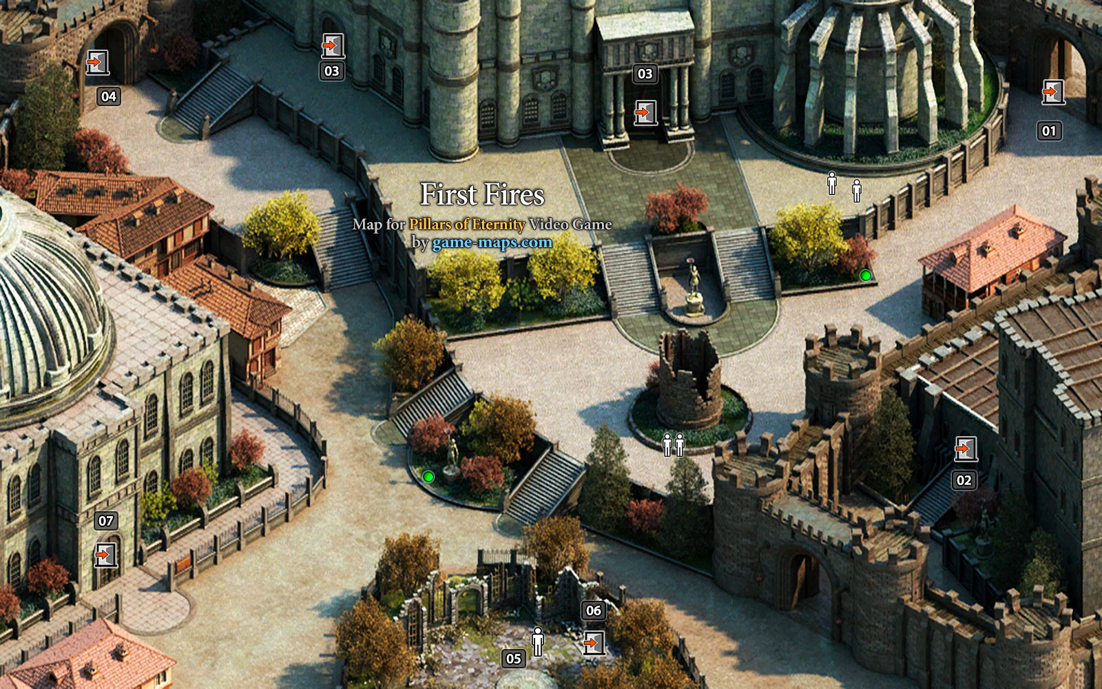 Pillars Of Eternity Karte.First Fires Pillars Of Eternity Game Maps Com