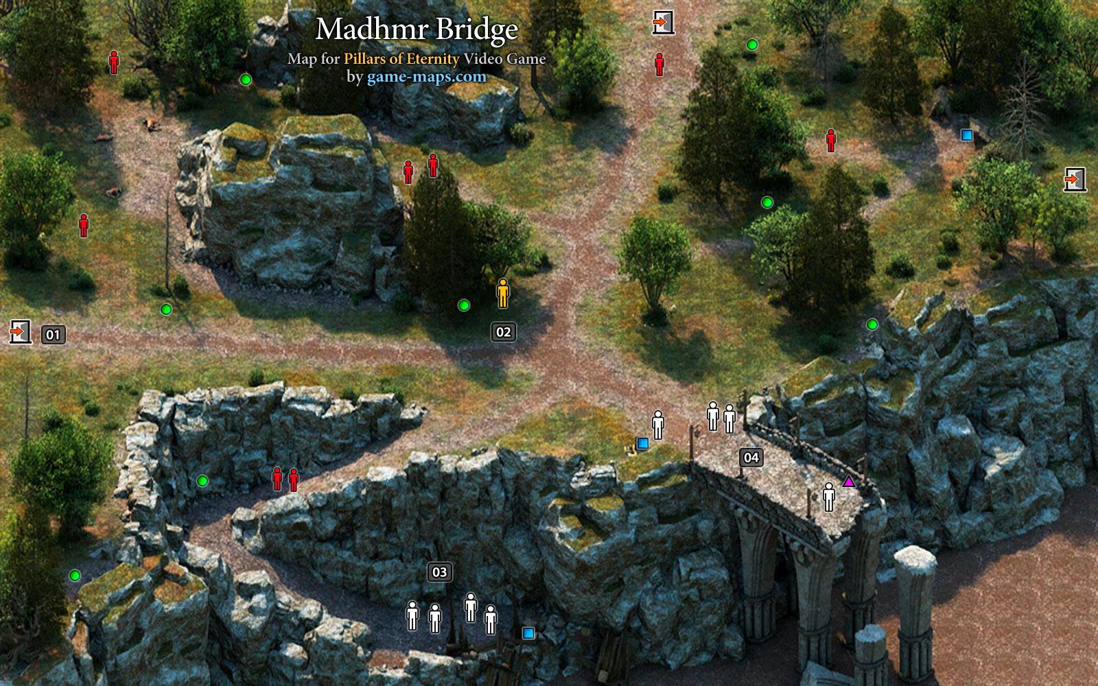 Madhmr Bridge - Pillars of Eternity  game-maps.com