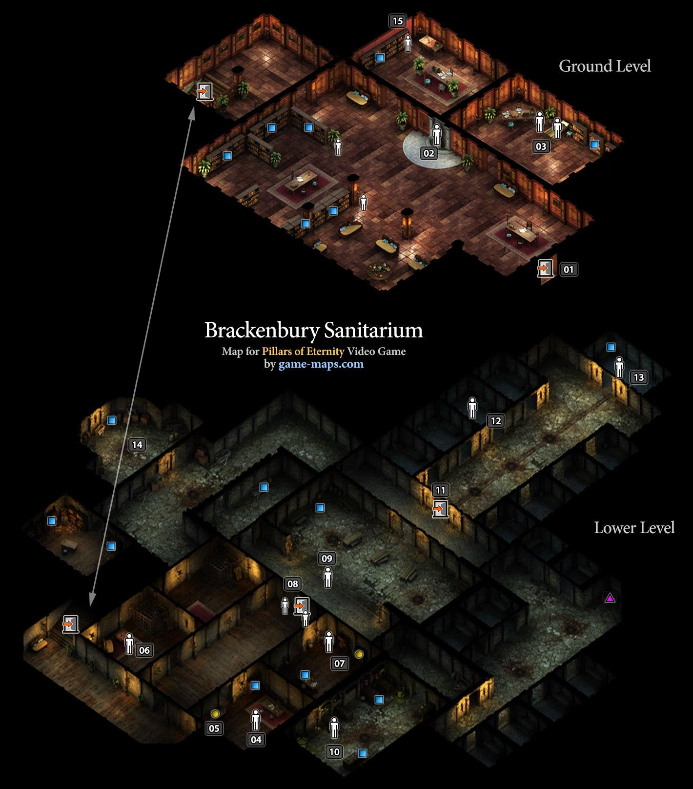 Brackenbury Sanitarium - Defiance Bay - Pillars of Eternity