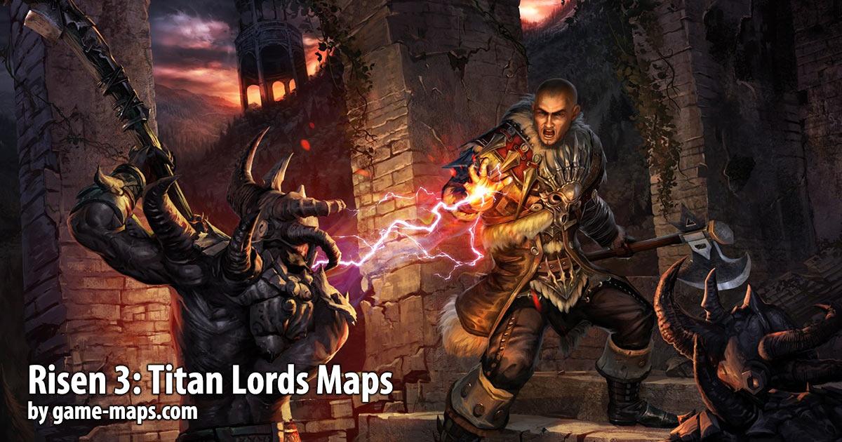 Risen 3: Titan Lords Maps & Walkthrough