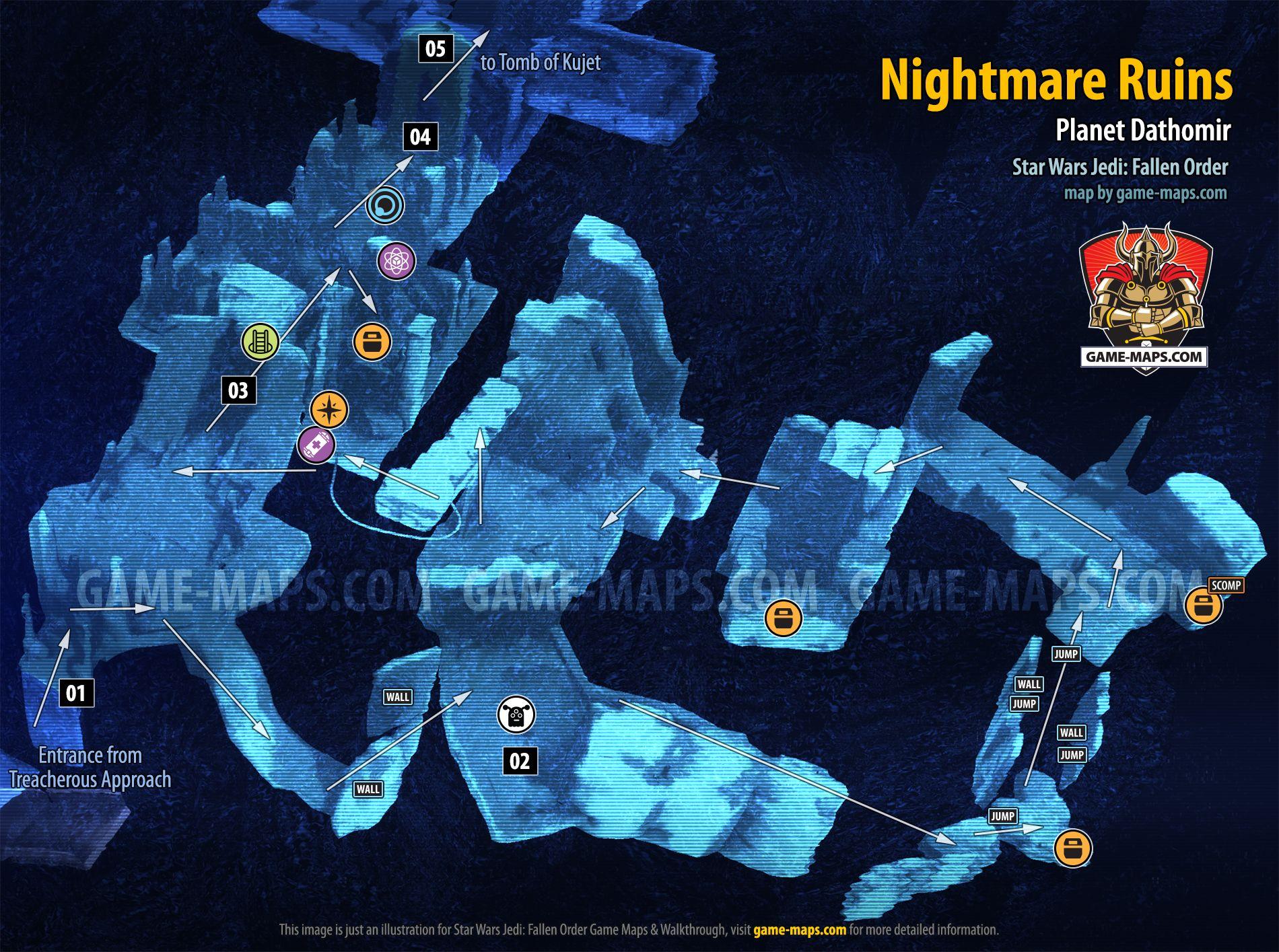 Nightmare Ruins Map Dathomir For Star Wars Jedi Fallen