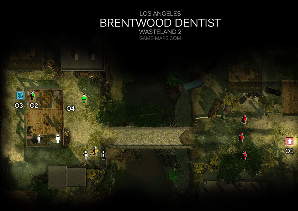 Brentwood Dentist Los Angeles Wasteland 2 Game Maps Com