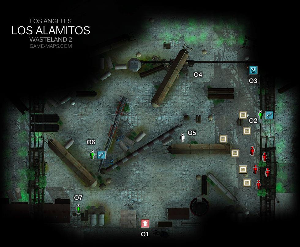 Los Alamitos Los Angeles Wasteland 2 Game Maps Com