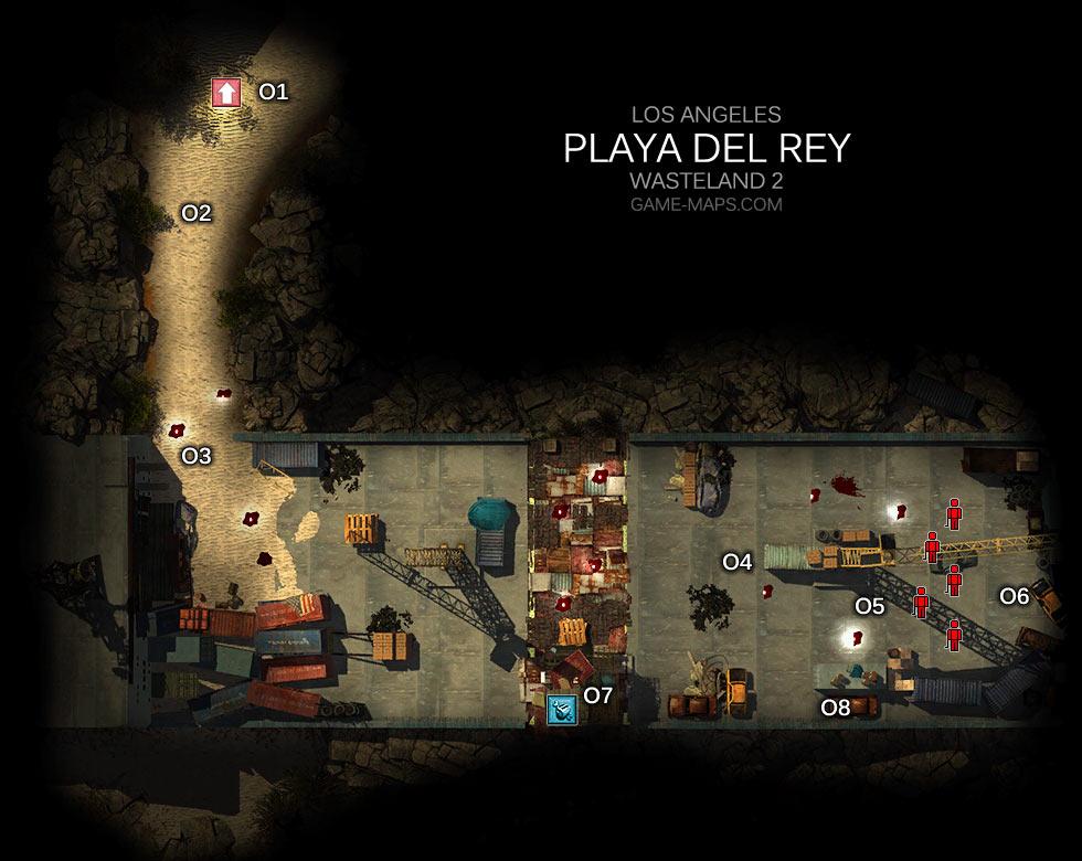 Playa Del Rey Los Angeles Wasteland 2 Game Maps Com