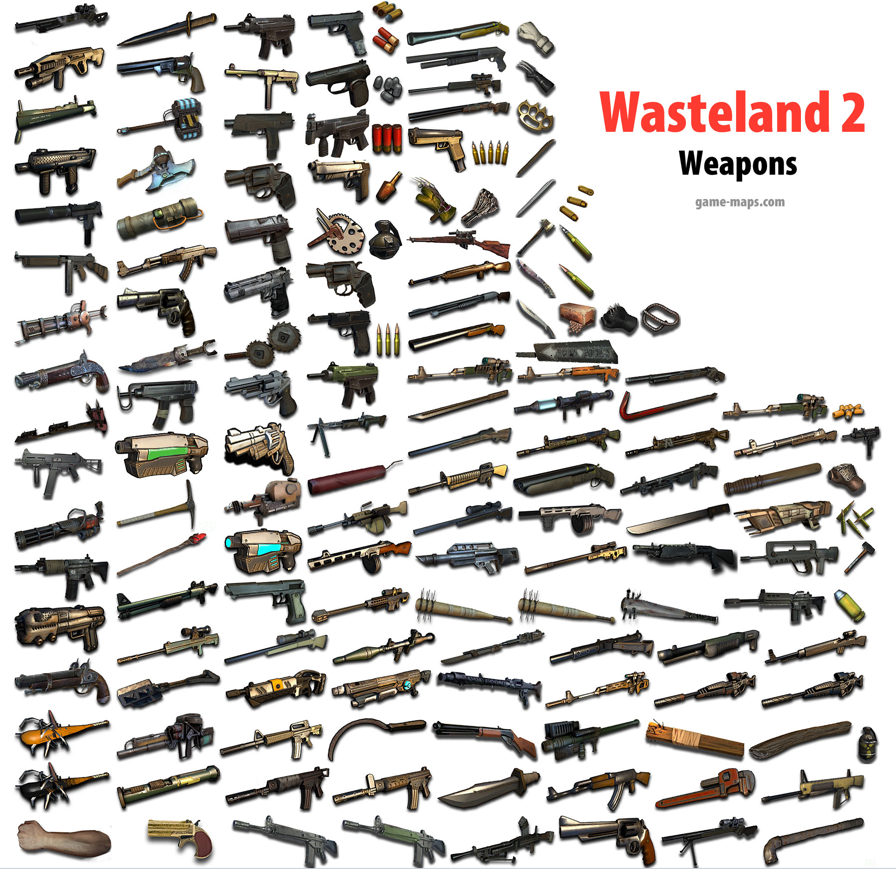 Wasteland 2 - Weapons