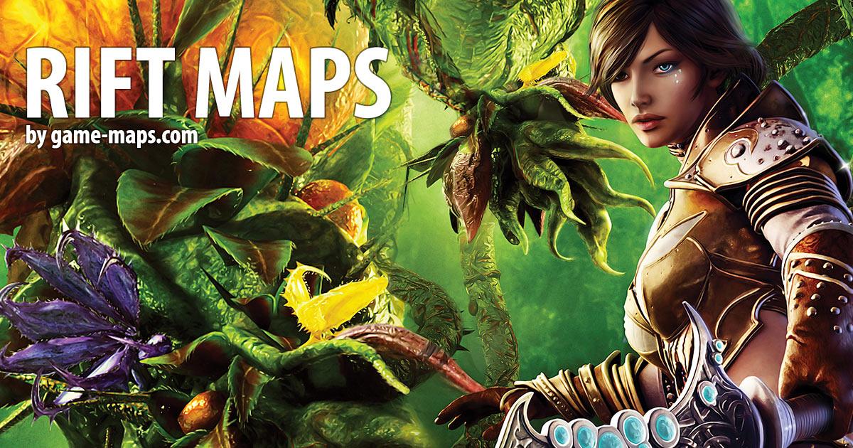 RIFT MMORPG MAPS