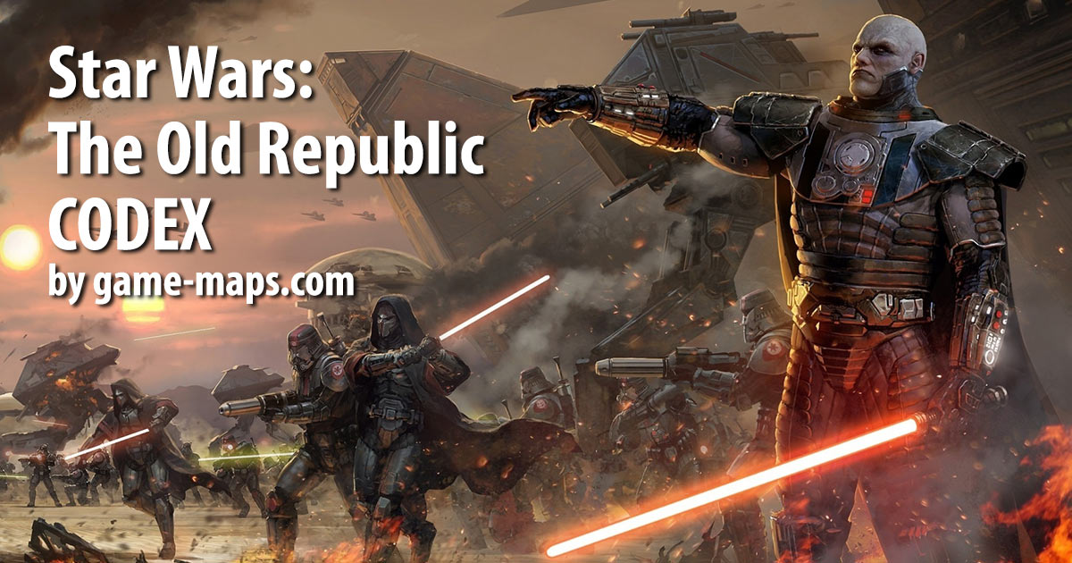 Voss Planet Star Wars The Old Republic Game Mapscom